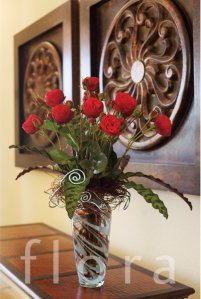 Flora_Alexandra Farms Roses in Vase_2011